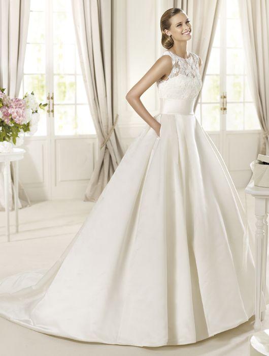 vestido de novias de @pronovias (modelo dalia desde 1.050€) | ohh