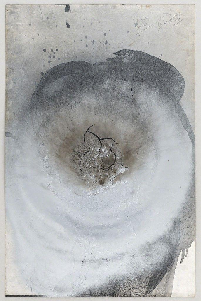 Otto Piene Silver Gekko 1988 Setareh Gallery