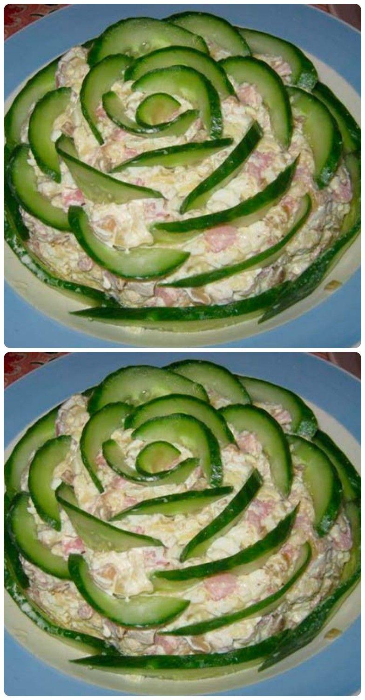 закуски и вкусные салаты