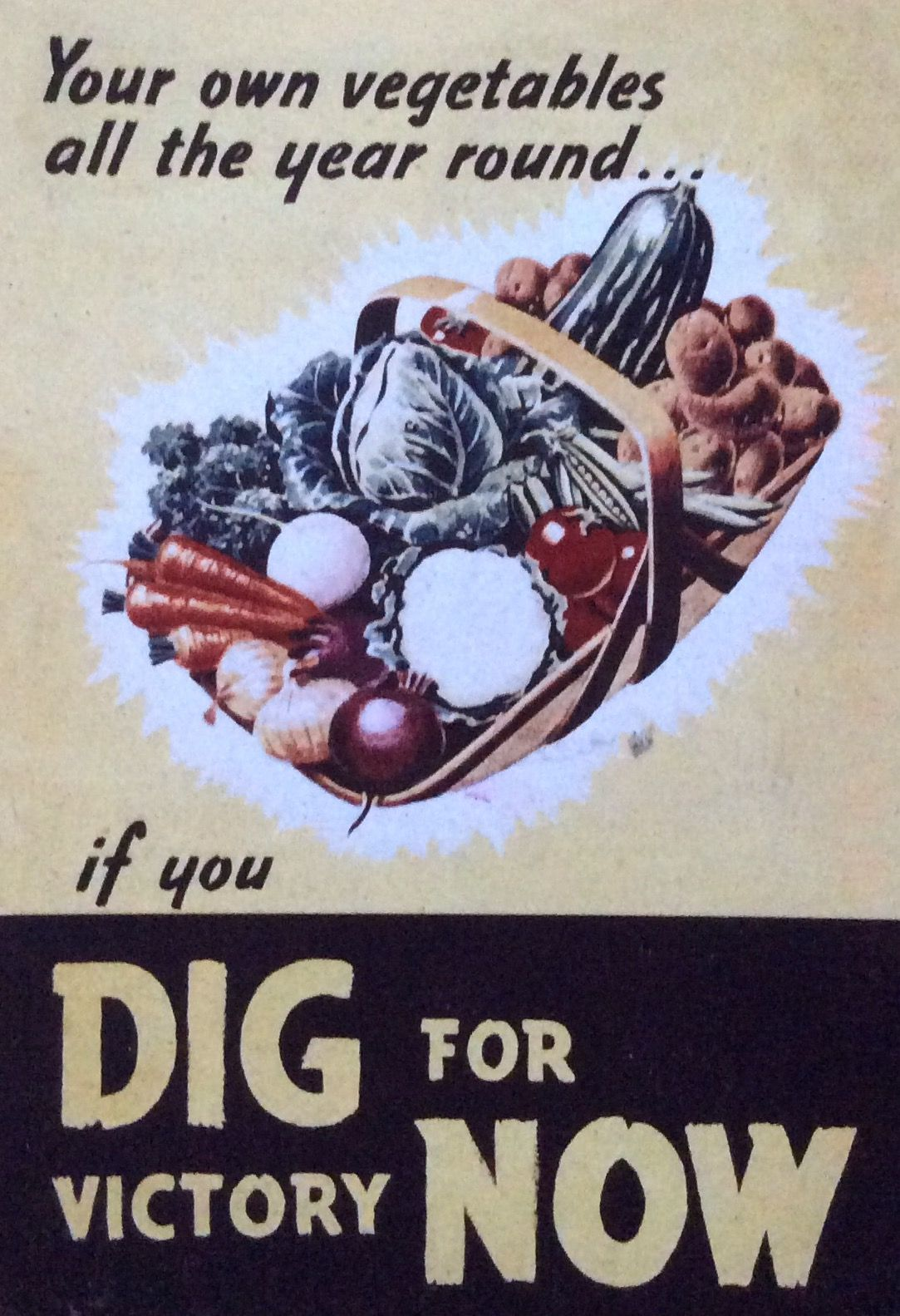 From Tess In Uk Dig For Victory World War World War Two