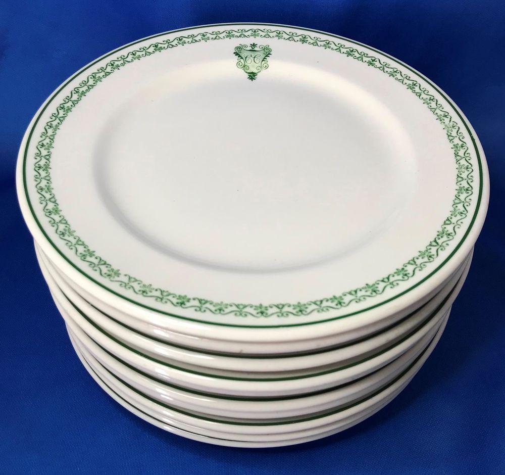 Private Social California Club Los Angeles Rare Plate Set