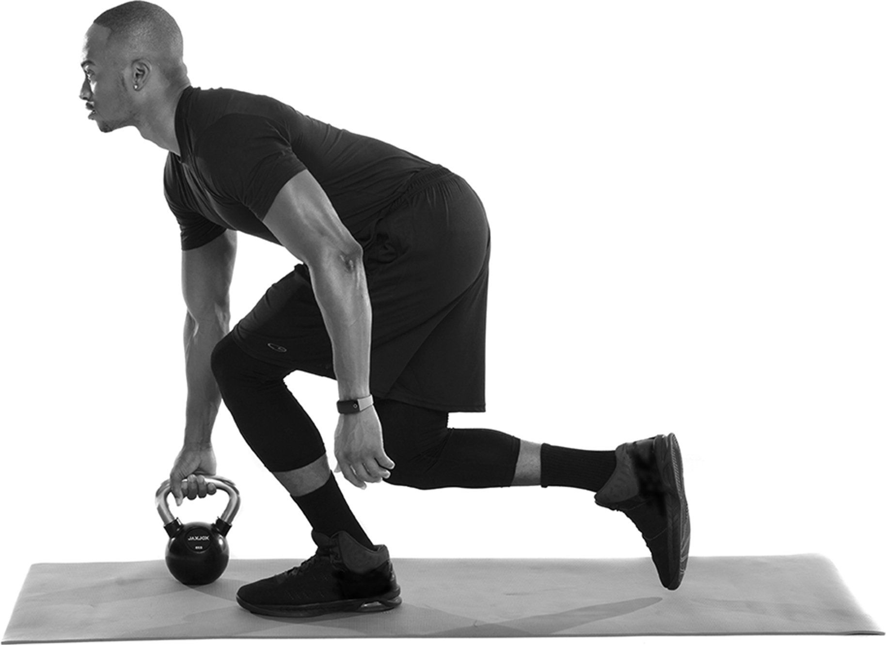 JAXJOX Rubber Coated Kettlebell 12kg 26.45lbs *** Click on