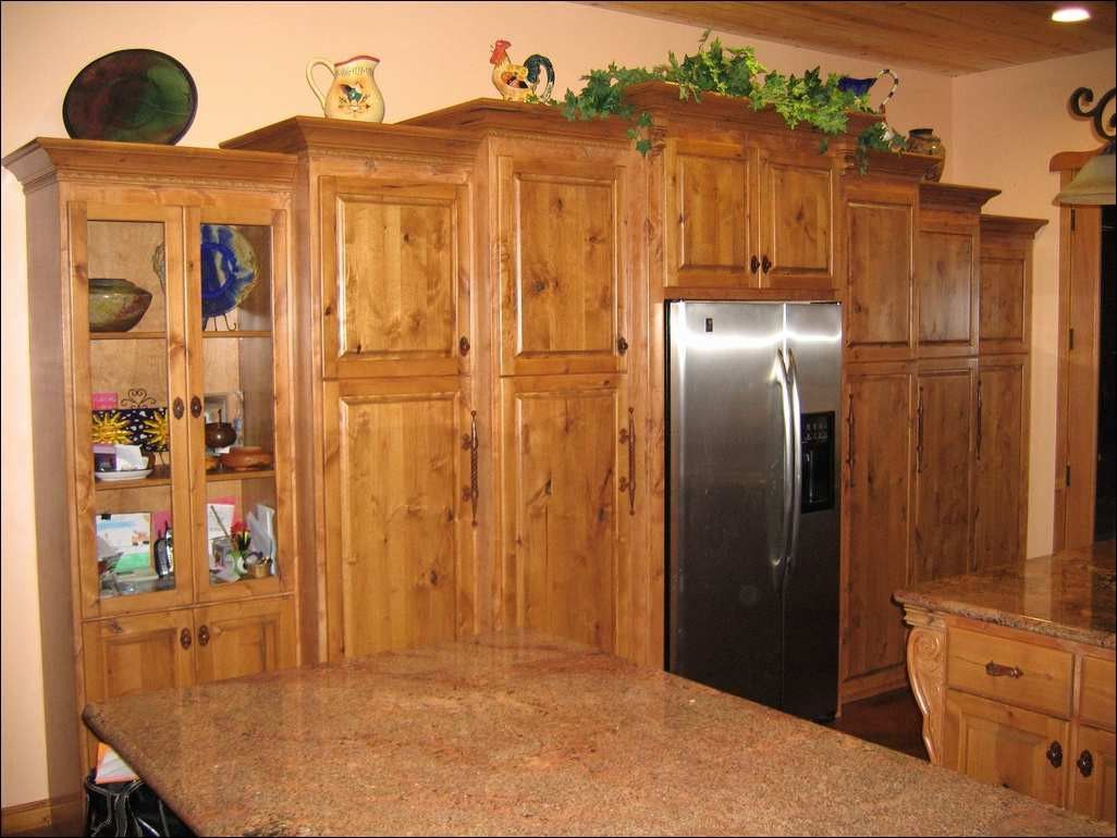 Unique Knotty Pine Kitchen Cabinets for Sale (With images ...
