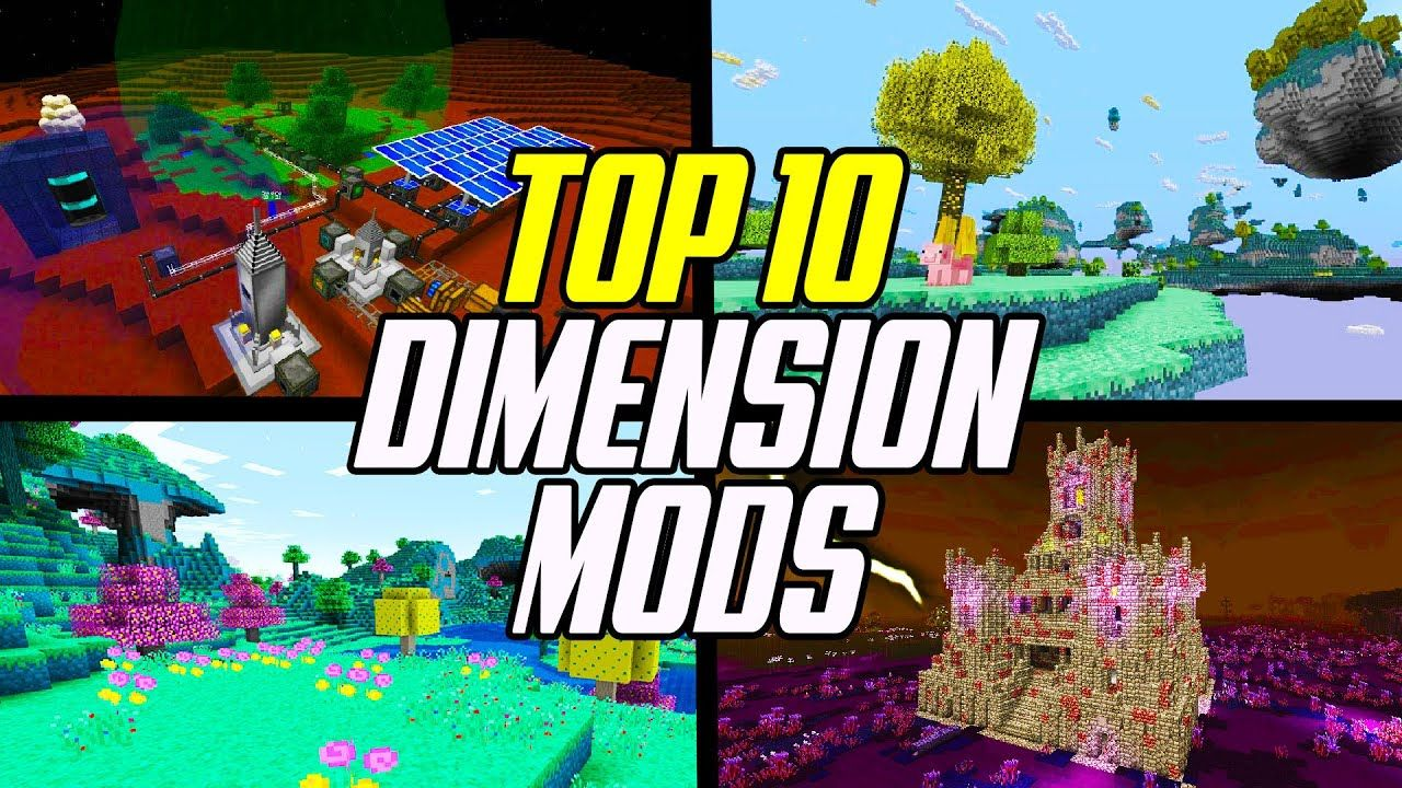 Top 10 Minecraft Dimension Mods In 2021 Minecraft Mods List Mod 10 Things