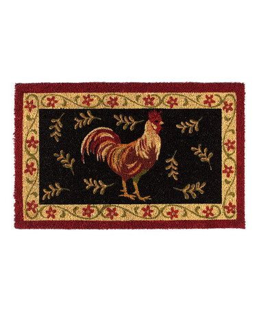 Take A Look At This Design Imports Rooster Door Mat By Design Imports On  #zulily