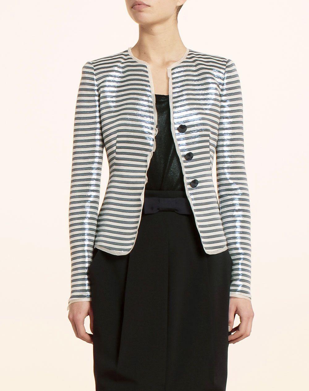 5f142217a8 Chaqueta de mujer Armani Collezioni - Mujer - Chaquetas y Blazers - El  Corte Inglés - Moda