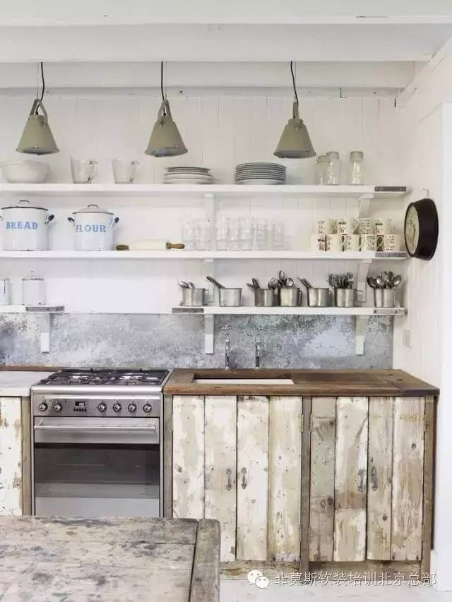 Scandinavian Sea Cottage Kitchen | Country kitchen designs ...