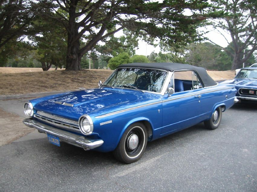 1964 Blue Dodge Dart 270 Convertible Dodge dart, Classic