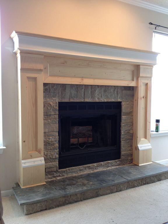 Diy Fireplace Mantel Redo Diy Fireplace Mantel Diy Fireplace
