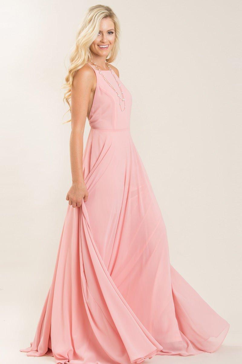 cc048c1e26e Emma Pink Flowy Maxi Dress - Morning Lavender