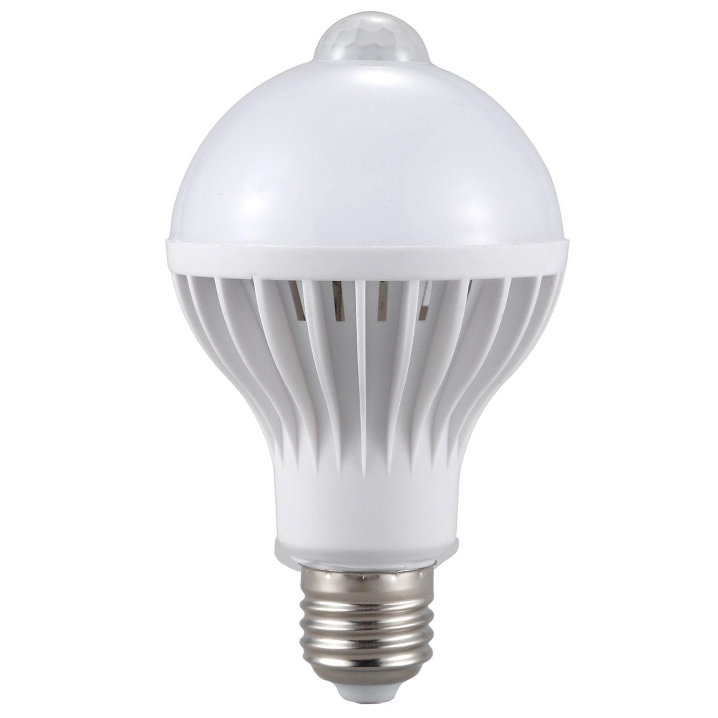 E27 Led Bulb Light Motion Sensor Light Led Pir Motion Sensor Lamp Globe Bulb Light Lamp Buy Now Discount 12 12 Price 3 Led Bulb Light Bulb Lamp Light