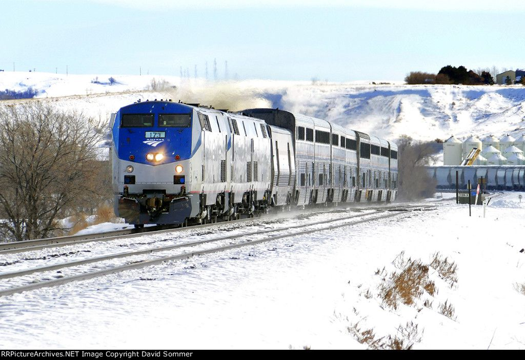 The Empire Builder Amtrak Railroad Photos Amtrak Train