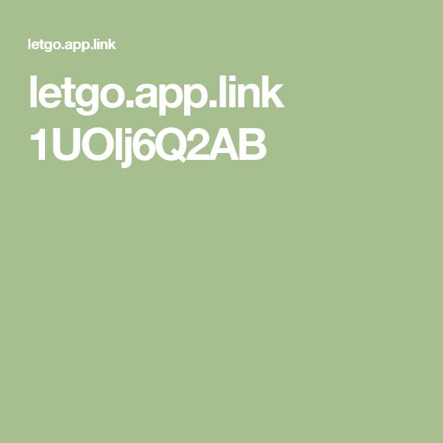 letgo.app.link 1UOlj6Q2AB