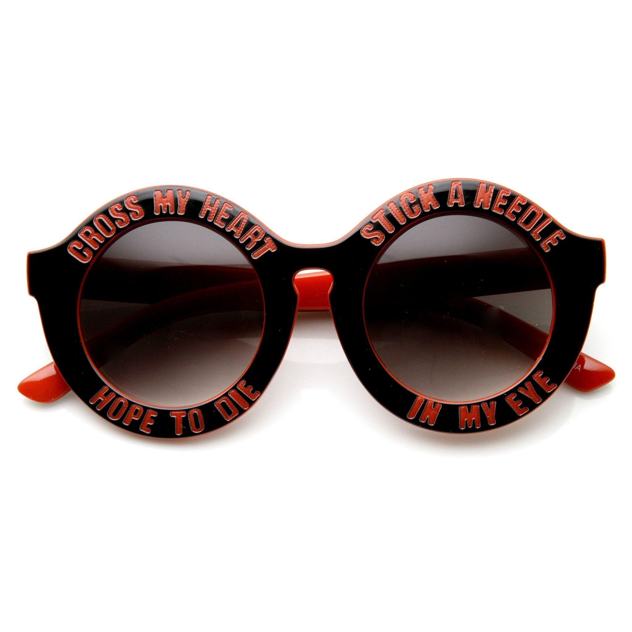 Classic 90s Outfits Runde Sonnenbrille Damenbrillen Und Partner