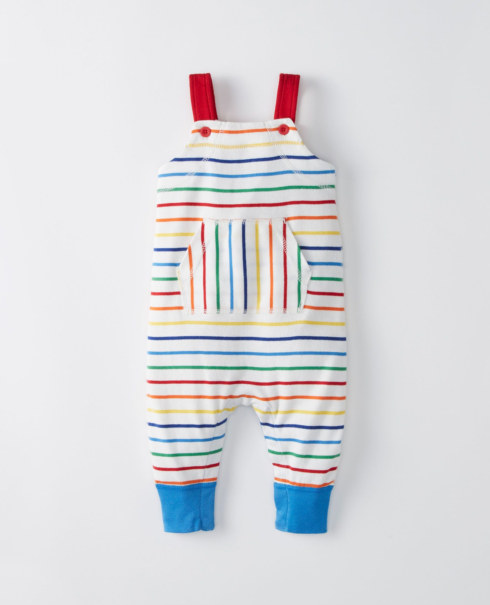 28e104cf3b73 Overall Romper In Organic Cotton