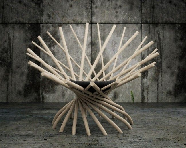 Modeling Of The Nest Chair