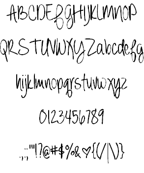 Always forever font by Brittney Murphy Design - FontSpace