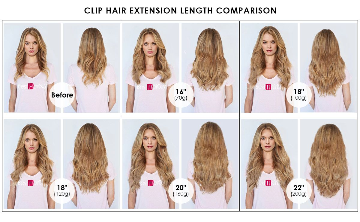 200g 22 Inch 8 613 Straight Clip In Hair Hair Extension Clips
