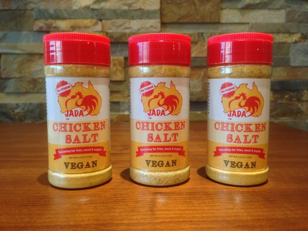 "JADA's Chicken Salt: vegan and paleo friendly ""chicken"" salt"