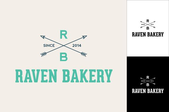 Hipster Logo Design Template - With clean presentation of details ...