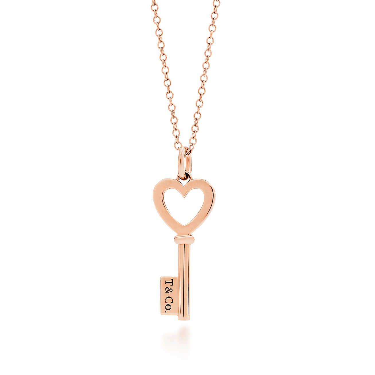 0acdbe94ef1 Tiffany Keys  Pendente de chave com coração