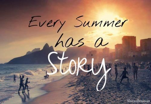 Good Every Summer Story Quote Beach Sea Ocean Shiwi