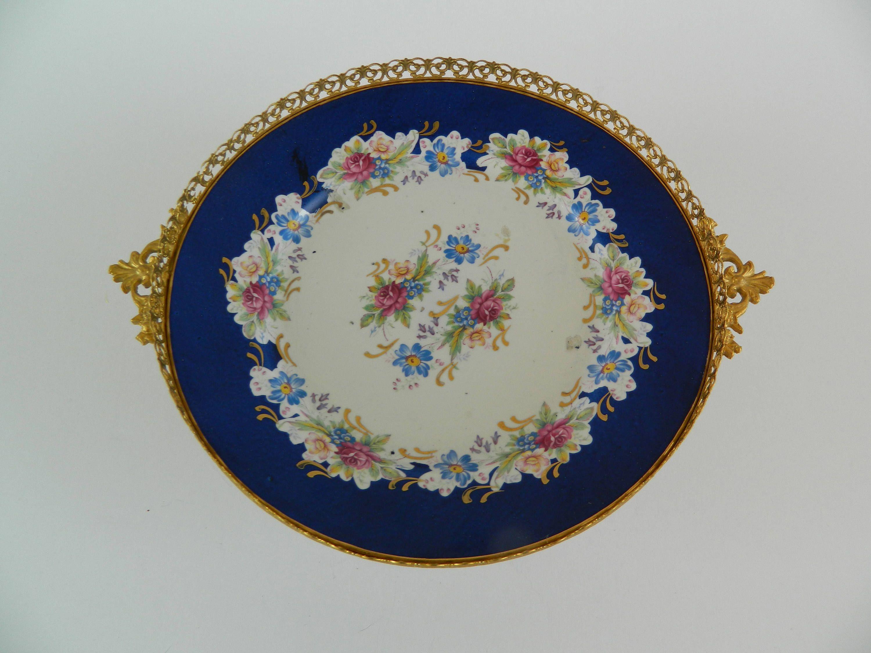 Vintage Porcelain Plate O Veles