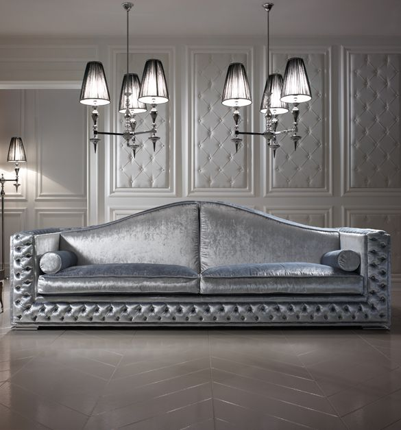 Luxury Platinum Velvet Sofa Luxury Sofa Sofa Design Luxury Furniture