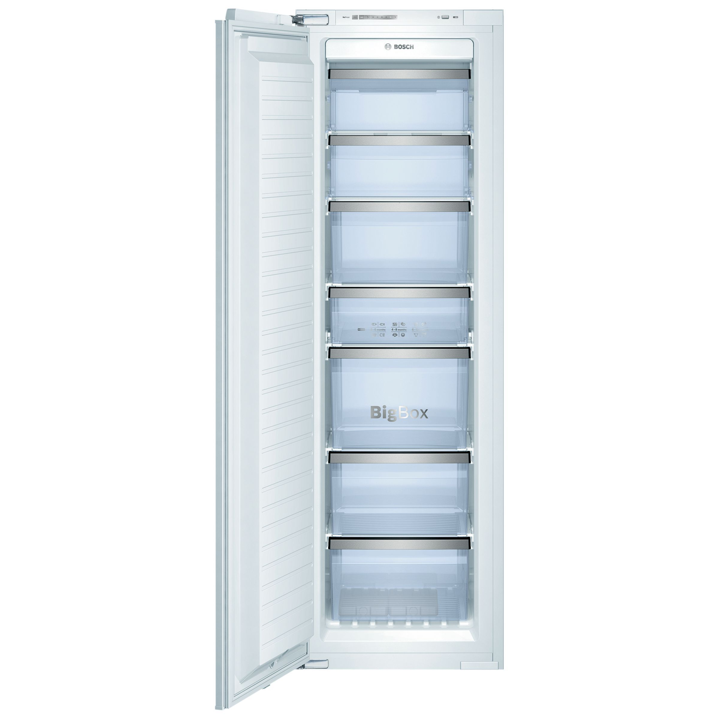 Bosch GIN38A55GB Integrated Tall Freezer, A+ Energy Rating