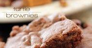 Turtle Brownies - Chef in Training #turtlebrownies