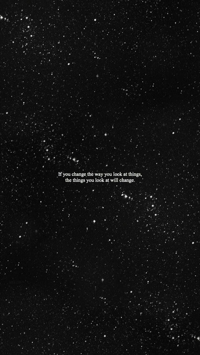 Lock Screen Dark Quotes Wallpaper Iphone