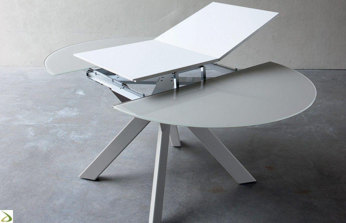 tavolo bianco rotondo allungabile - Cerca con Google | INTERIORS ...