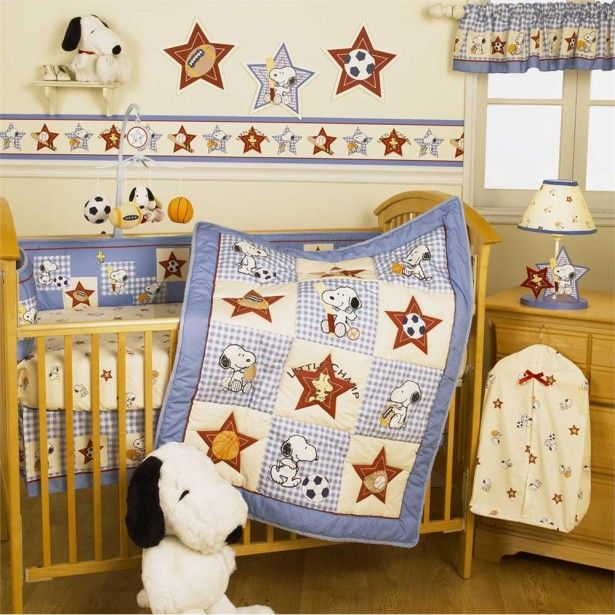 Save Bedtime Originals Champ Snoopy Baby Crib Bedding Set Blue By Lambs U0026  Ivy At The Great Bedding With Big Deals