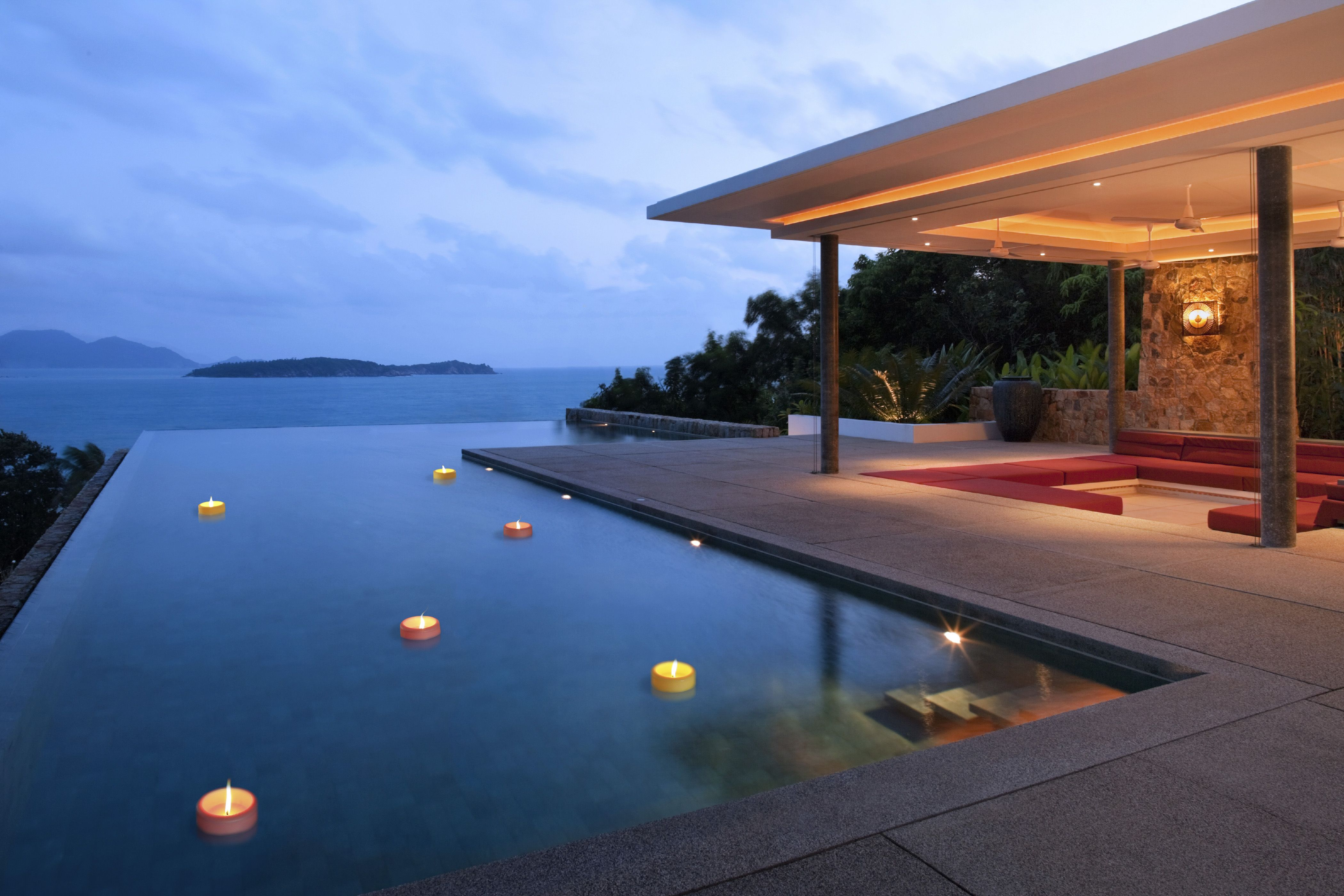 Pool candles home floating candles pool candles for Candele piscina