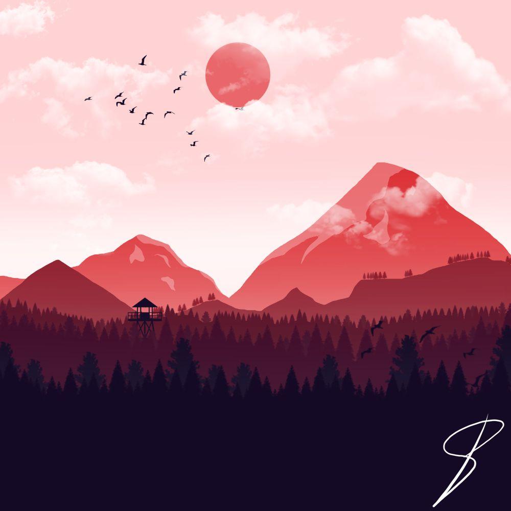 2d Flat Landscape Design Landscape Illustration Landscape Design Drawings Landscape,John F Kennedy Junior Young