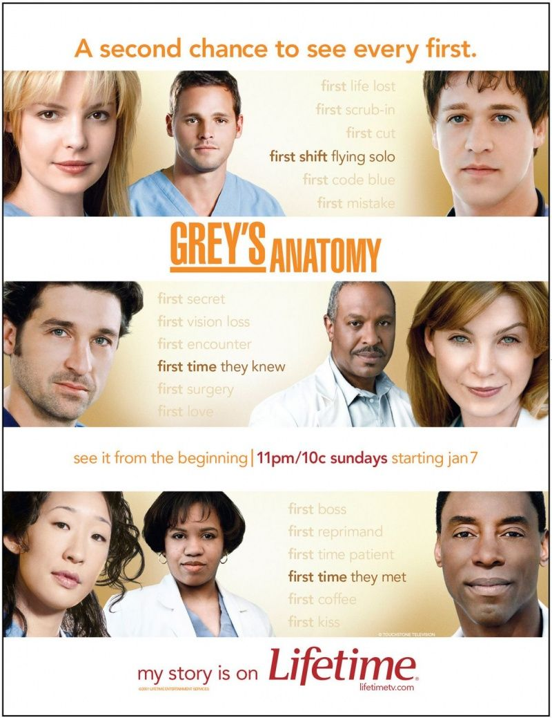 Grey\'s Anatomy | Serials for me | Pinterest | Anatomy, TVs and Movie