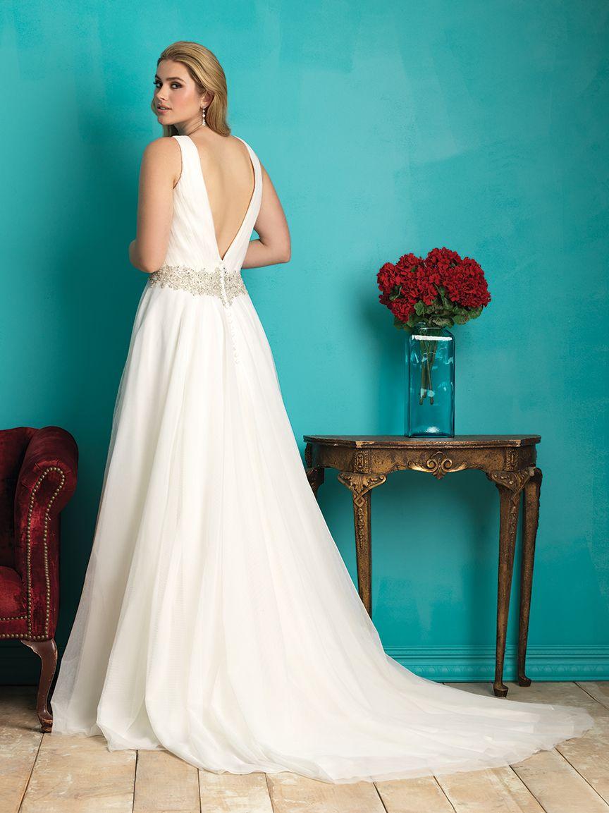 Allure Bridals: Style: W362   ALLURE W O M E N   Pinterest   Allure ...