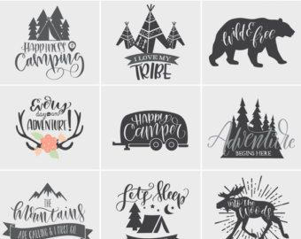Download I Love My Tribe Camping SVG File Cricut SVG File by ...