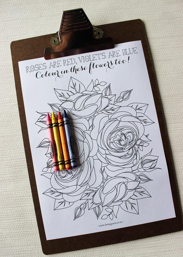 large printable activity book for children at weddings