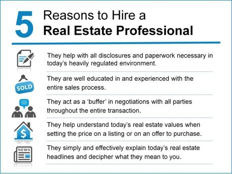 5 Reasons To Hire A Real Estate Professional Keeping Current Matters Real Estate Professionals Real Estate Real Estate Information
