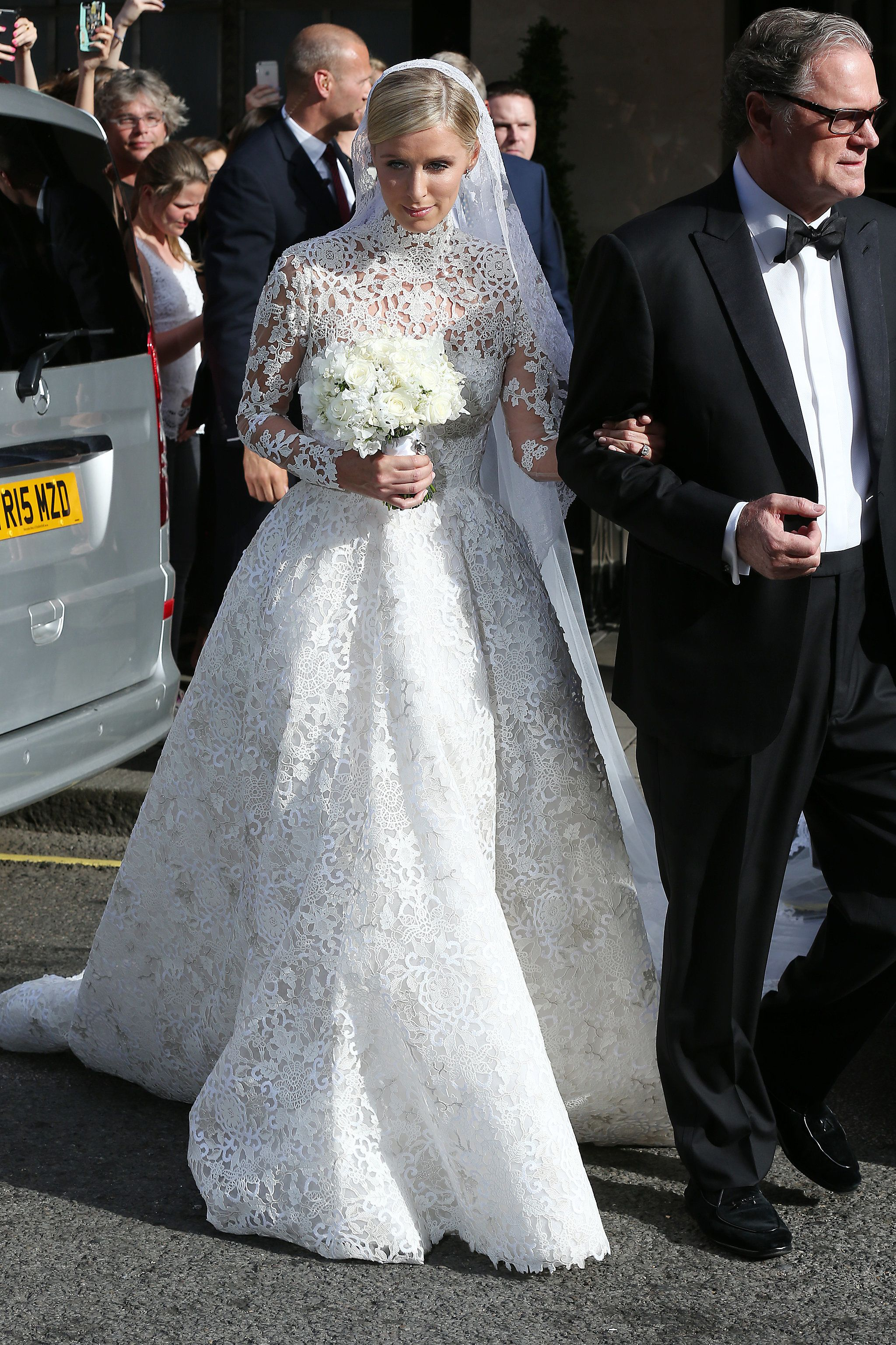 Nicky Hilton Ties The Knot See Her Gorgeous Wedding Snaps