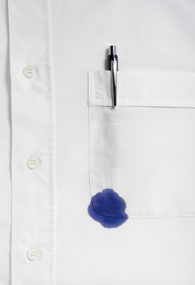 How To Get Oily Stains Out Of Dark Clothes One Good Thing By Jillee Cleaning Hacks Cleaning Laundry Stains