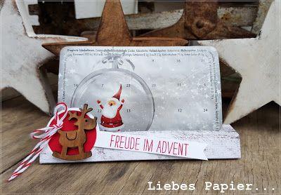 Liebes Papier...: Ein Ständer für den Weihnachtsmann...