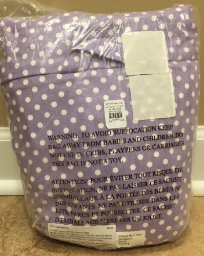 Bedroom Playroom and Dorm D cor 115970: New Pottery Barn Kids Mini Dot Regular Anywhere Chair Cover Lavender Polka Dot -> BUY IT NOW ONLY: $49.99 on eBay!