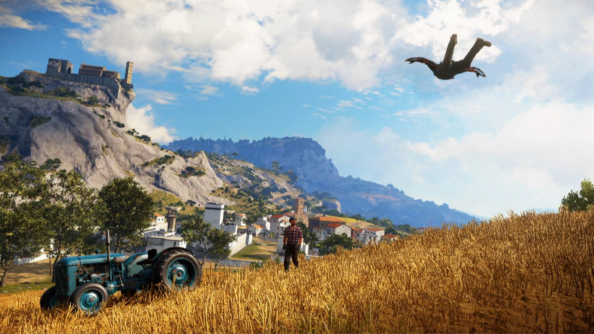 New Just Cause 3 Screenshots Shows Off Its Beautiful Mediterranean Setting Lightning Gaming News Just Cause 3 Phone Wallpaper Wallpaper