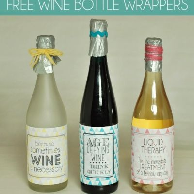 Free Printable Wine Bottle Labels Products I Love Pinterest