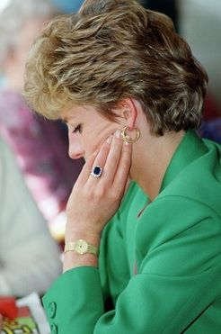 pHOTOS OF THE ISLAND WHERE PRINCESS dIANA IS BURIED | Princess Diana wearing her engagement ring
