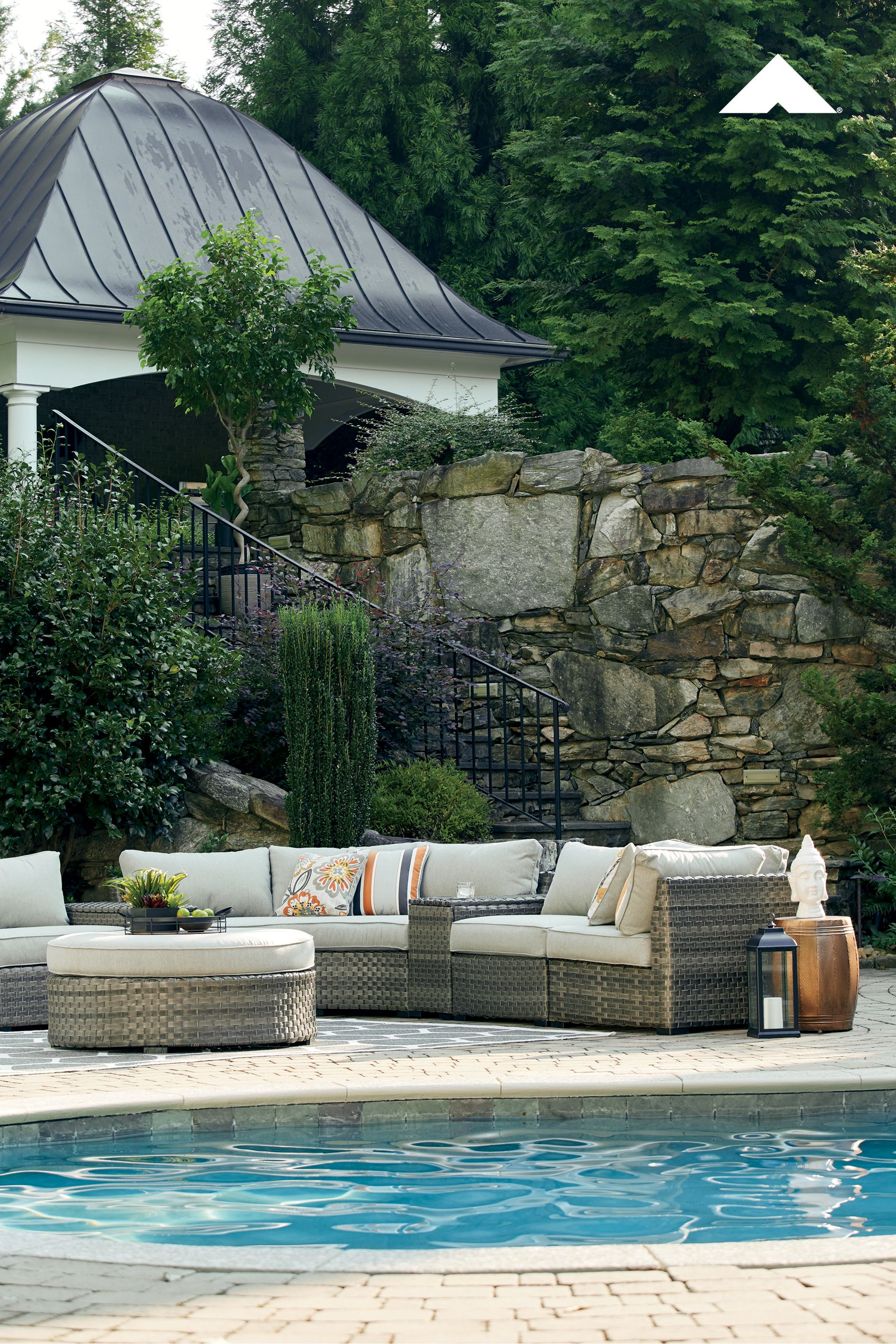 Spring Dew Outdoor Patio and Space Sectional by Outdoor by ...