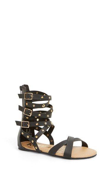 8fa111a3b3b kensie girl Studded Gladiator Sandal (Toddler