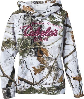 Cabela/'s Men/'s SECLUSION 3D Camo Hunting Ultra Warm Heavyweight L XL Hoodie